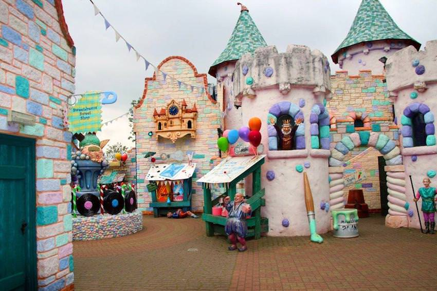 We just love the Lollipoppet village at Sundown Adventureland