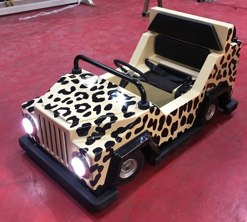 The all new Jungle 4x4 at Sundown - just being completed in the workshop
