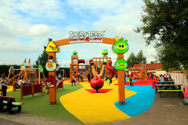 angry birds activity park sundown adventureland. Black Bedroom Furniture Sets. Home Design Ideas