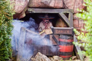 Rocky Mountain Railroad Ride - Sundown Adventureland