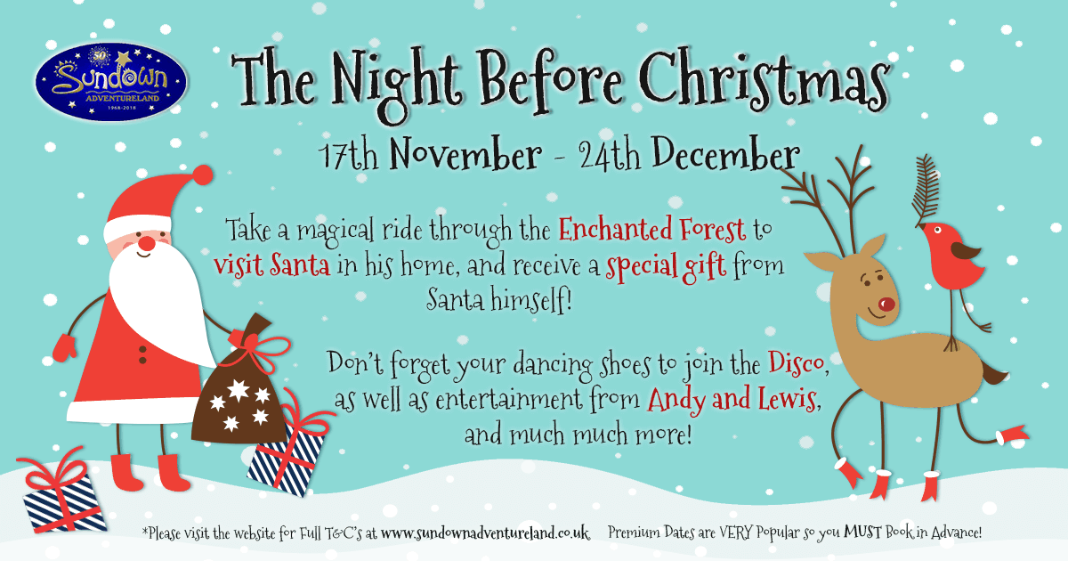the night before christmas event - On This Night On This Very Christmas Night