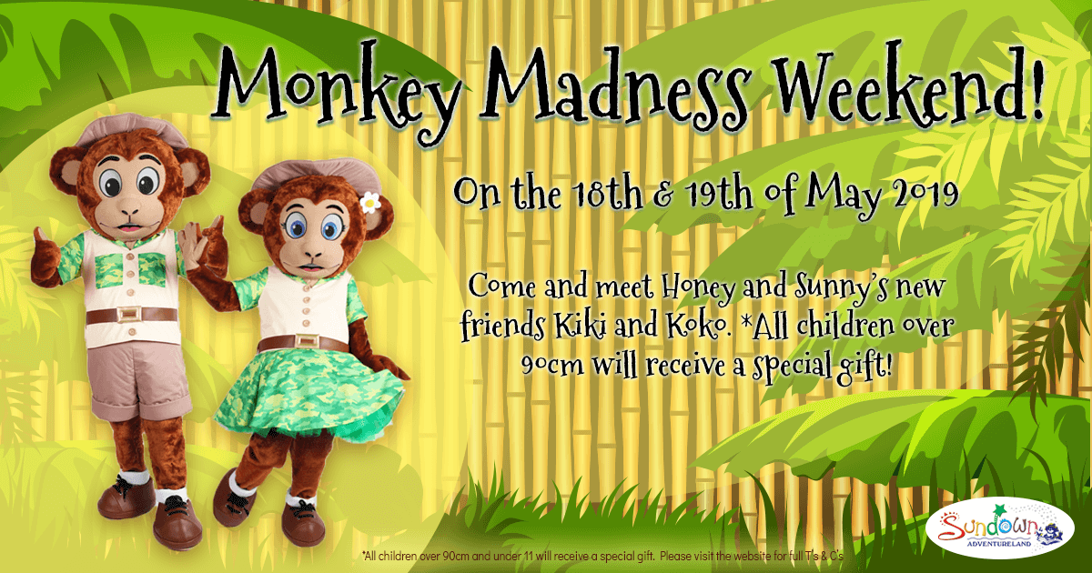 Monkey MAdness Weekend