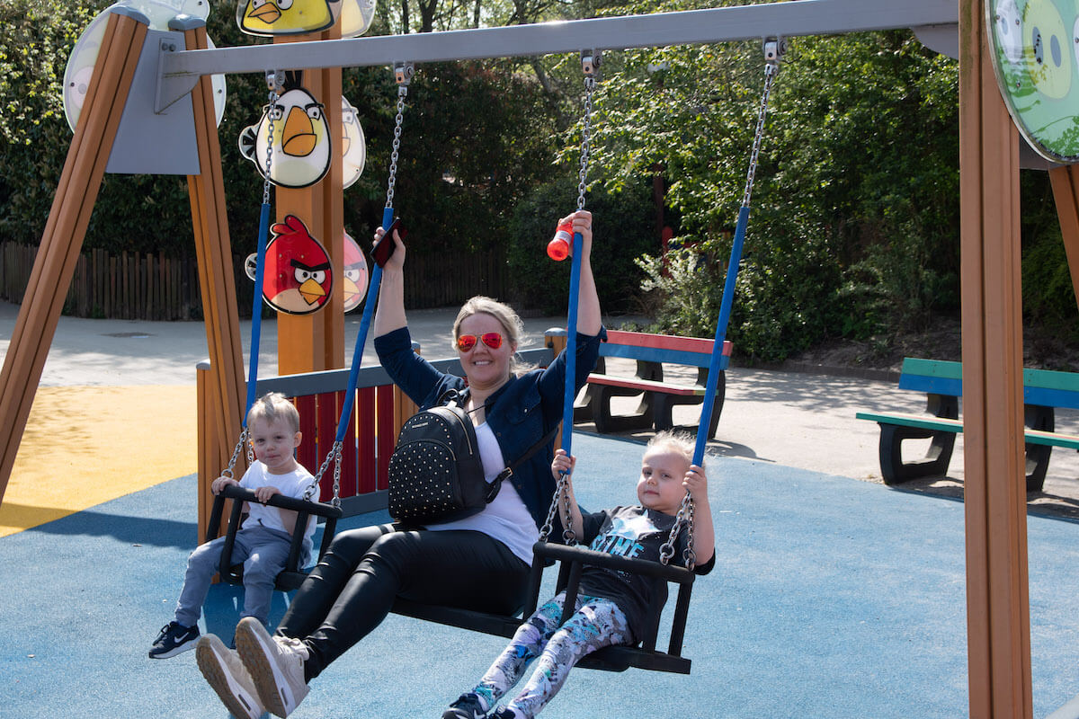 Fabulous family swing fun for Mums at Sundown Adventureland this Mother's Day