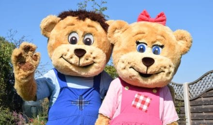 Meet Honey and Sunny at Sundown Adventureland this Mother's Day